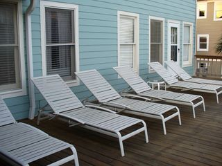 Isle of Palms house photo - 2nd Floor sun deck for all who want a tan.