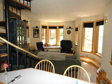 Open Floorplan and plenty of windows .