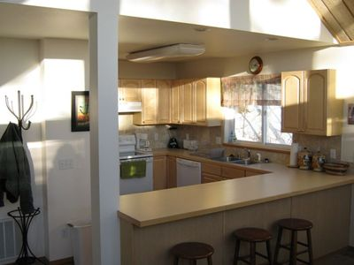 Homer house rental - Kitchen