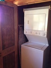 Breaux Bridge cottage photo - Cottage is equipped with stackable washer/dryer, drying rack and ironing board.