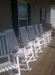 Rocking Chair porch to relax