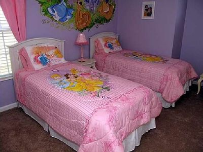 Princess Theme Room Suite