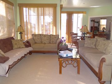 Open Family / Great Room with Futon Sleeper (photo from different angle)
