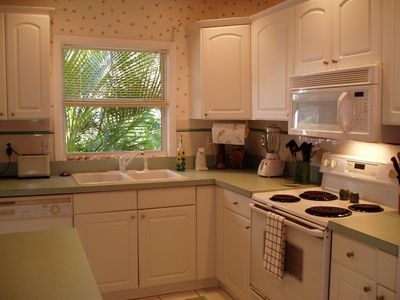 Pine Island house rental - Kitchen