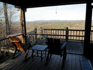 Blue Ridge cabin photo - Screened Porch