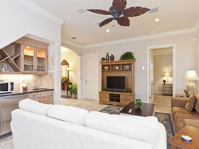 Crescent Beach condo rental - Our home has two living rooms!
