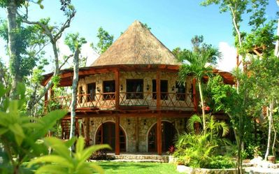 The Casa is beautiful inside & out and just 1 of 5 guest houses on the property.