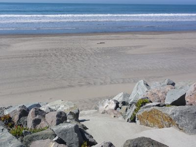 Stinson Beach house rental - Beach access from the house