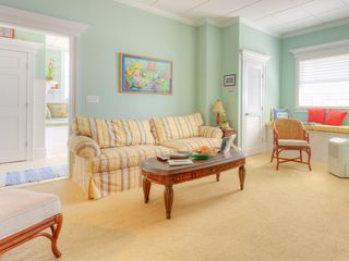 Summer Haven house photo - Enjoy our 1st floor family room with queen sleeper sofa