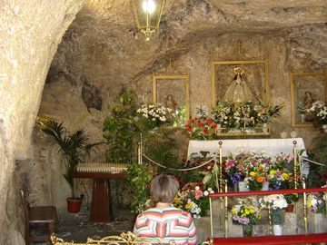 16th Century cave church Mijas