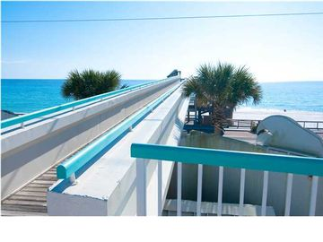 Crossover Bridge from Pool Deck to Beach