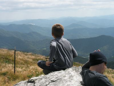 On top of Roan Mt. accessible from the Appalachian Trail. Can be hiked to.
