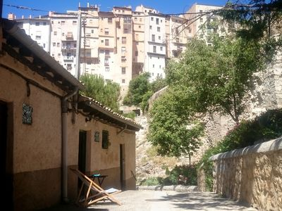 House in Cuenca. Hanging houses