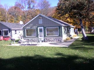 Lake Leelanau cottage photo - Fall colors at the Cabin.