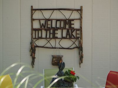 WELCOME TO THE LAKE & A POINT OF VIEW!