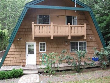 North Bend chalet rental - View of chalet upon your arrival