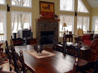 Wintergreen house photo - Great Room and Dining area