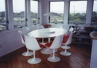 Dining room with view of bay/ocean