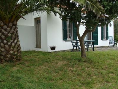 Sao Miguel Island house rental - patio exterior