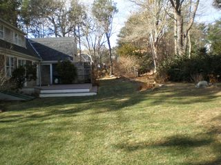 East Dennis house photo - Big Landscaped yard