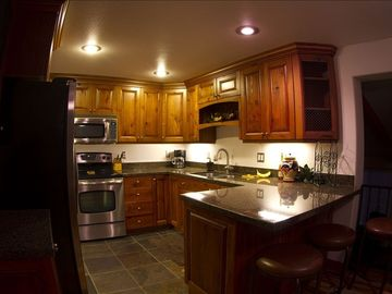 Kitchen with all cookware, dishes and utinsels included