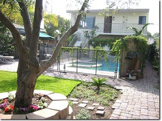 Seal Beach house photo - Private Gated Yard