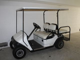 Folly Beach townhome photo - Golf cart included for easy island travel