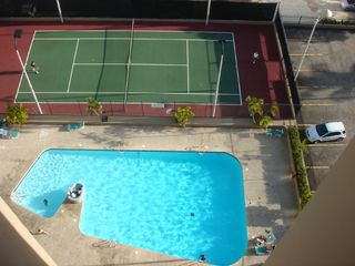 Isla Verde apartment photo - Private pool and tennis court