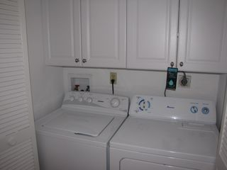 Naples condo photo - Laundry Room in Residence Waschmasschine & Trockner