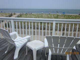South Bethany Beach house photo - View of the ocean from the deck. Perfect spot to view gorgeous sunrises.