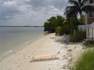 Fort Myers Beach condo photo - Small on-site private beach on bayside