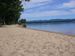 Ossipee Lake cottage photo - The beach