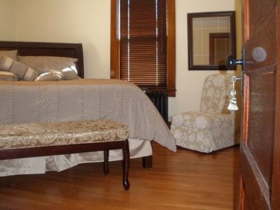 Havre de Grace house rental - 2nd master bedroom with king size bed