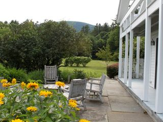 Sheffield house photo - Patio with view of mountain