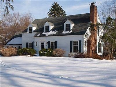 Minnetonka house rental - Front in winter