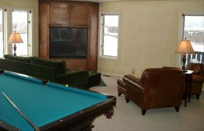 Snowbasin estate rental - Billiards Room