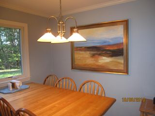 Wellfleet house photo - Freshly painted with dining for 6