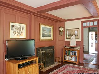 Nantucket Town house photo - Rear Parlor - View No. 2
