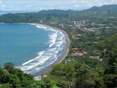 Coast Line & Town of Jaco
