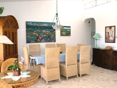East Villa Dining Room