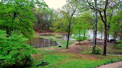 Overview of our ponds at Red Oak Hollow