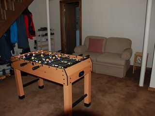 Great Barrington cabin photo - Foosball part of game room
