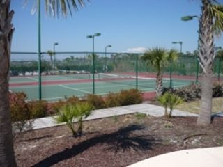 Fort Morgan house photo - Community tennis courts