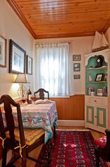 Santa Cruz cottage photo - Relax in your very own private bistro dining room.