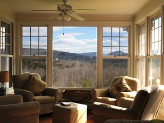 Tannersville farmhouse photo - The Sun Room.