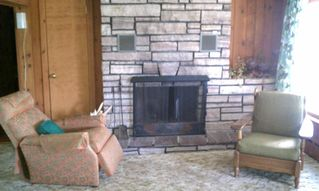 Lake Placid house photo - fire place for cool nights & a book
