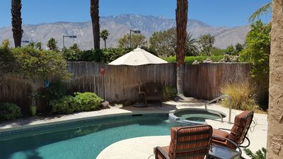 Beautiful Palm Springs Home with Private Pool and Excellent Mountain Views