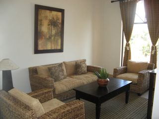 Jaco condo photo - Living room with Mountain Rainforest View