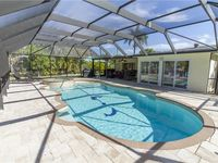 Egret Beach House,   2 Bedrooms, Sleeps 6, Canal, Private Heated Pool,