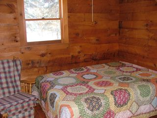 Pittsburg cabin photo - Master Bed Room